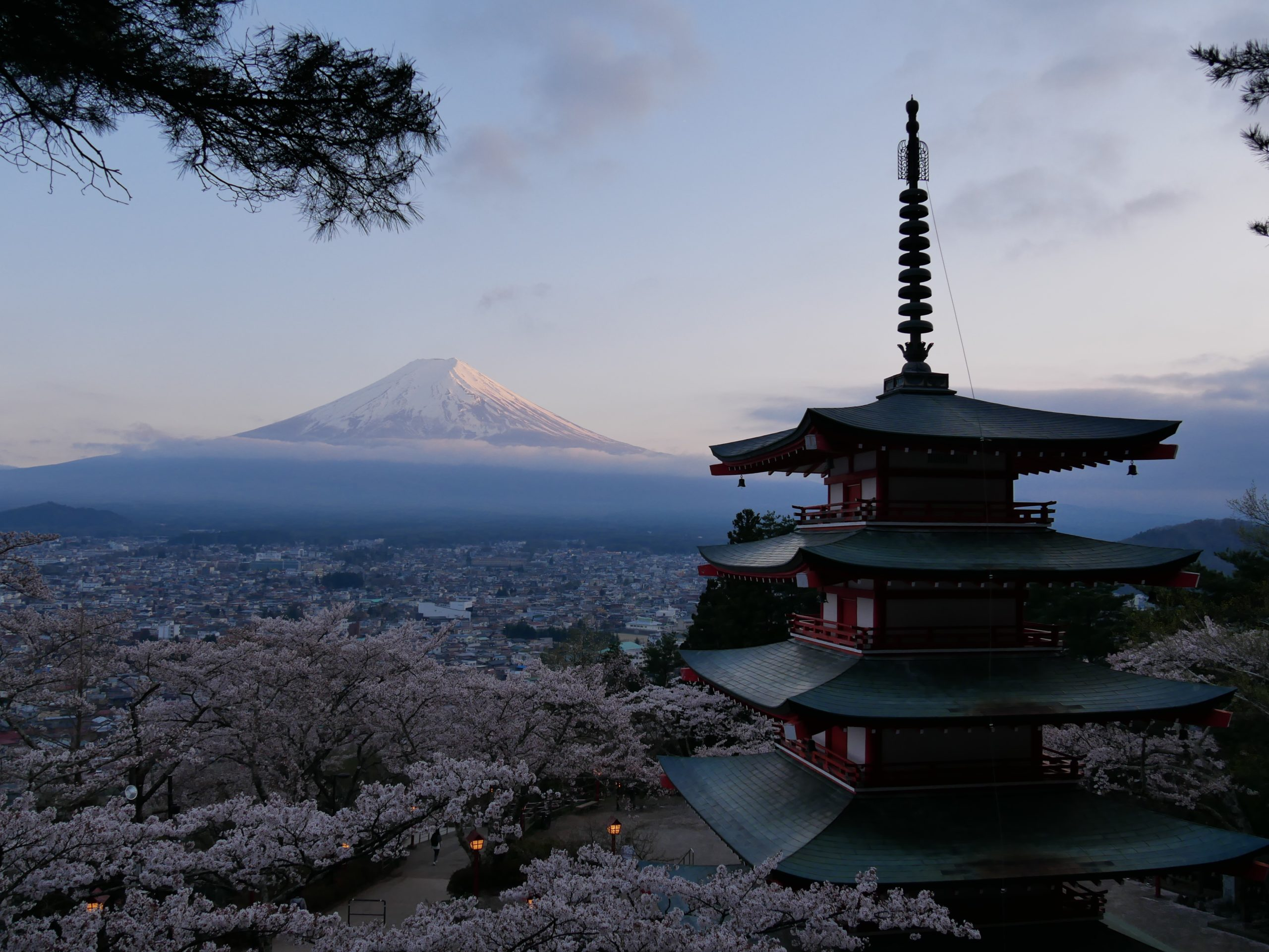 Japon: l'ascension du Mont Fuji
