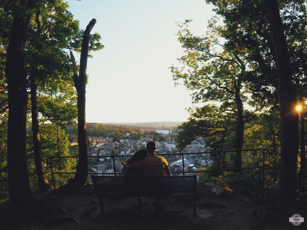 panorama sur la ville de spa, balade , randonnée