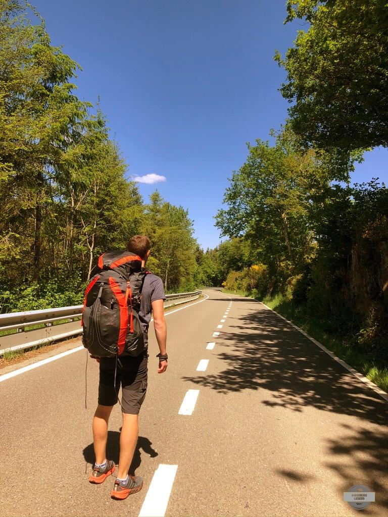 Houffalize à tailles randonnée bivouac