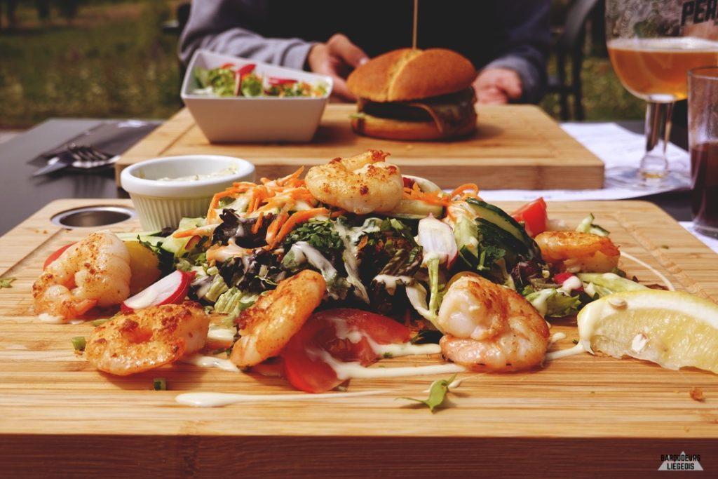 repas gustatif brasserie Peak