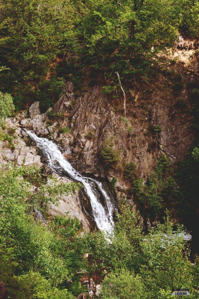 Cascade du bayehon  chute d'eau