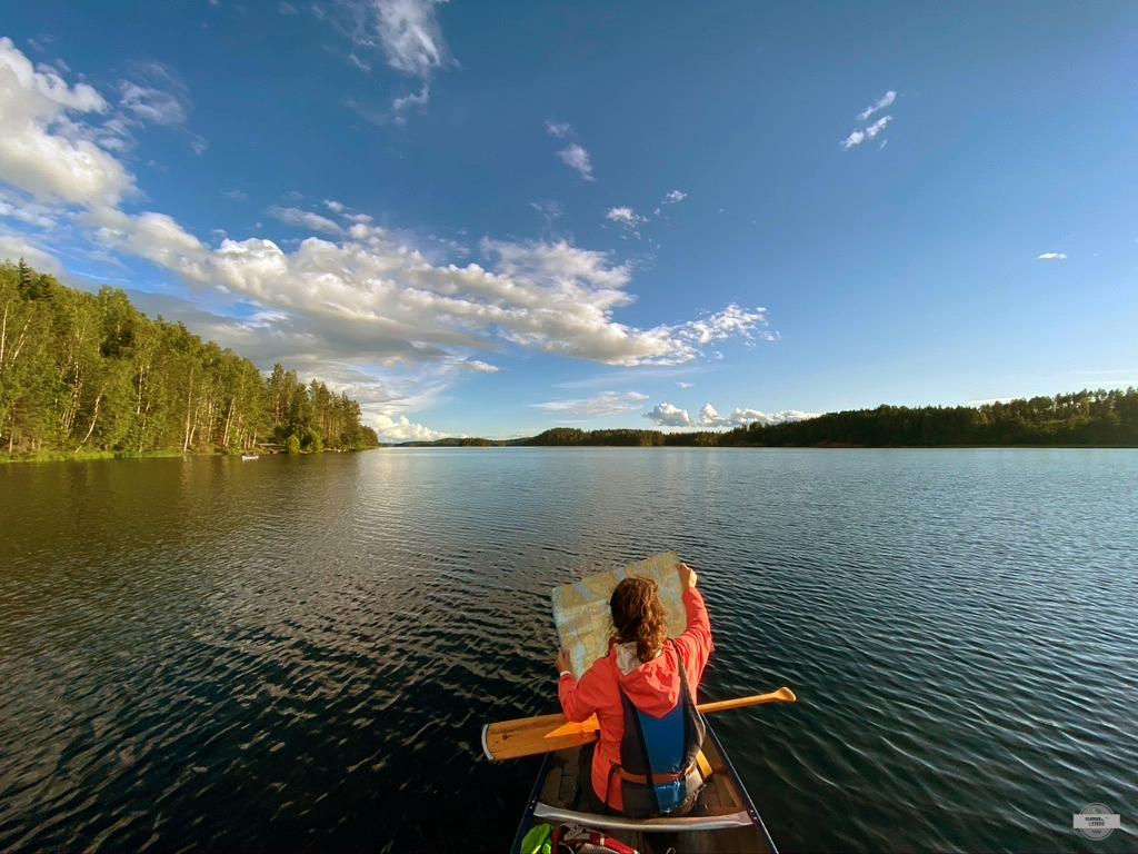 le canoe trip en suède