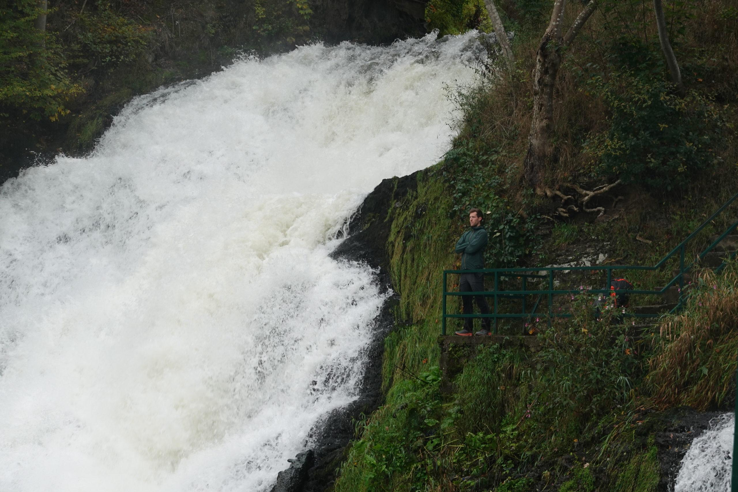 Balade des points de vue au départ de la cascade de Coo