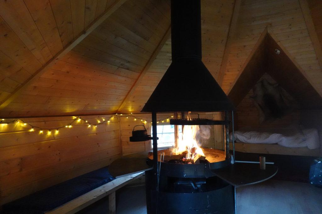 kota finlandais chez un musher: logement insolite vercors