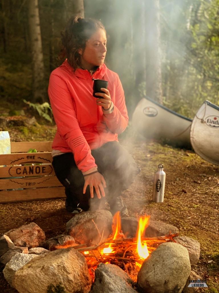 matériel utile canoe trip vêtements mérinos