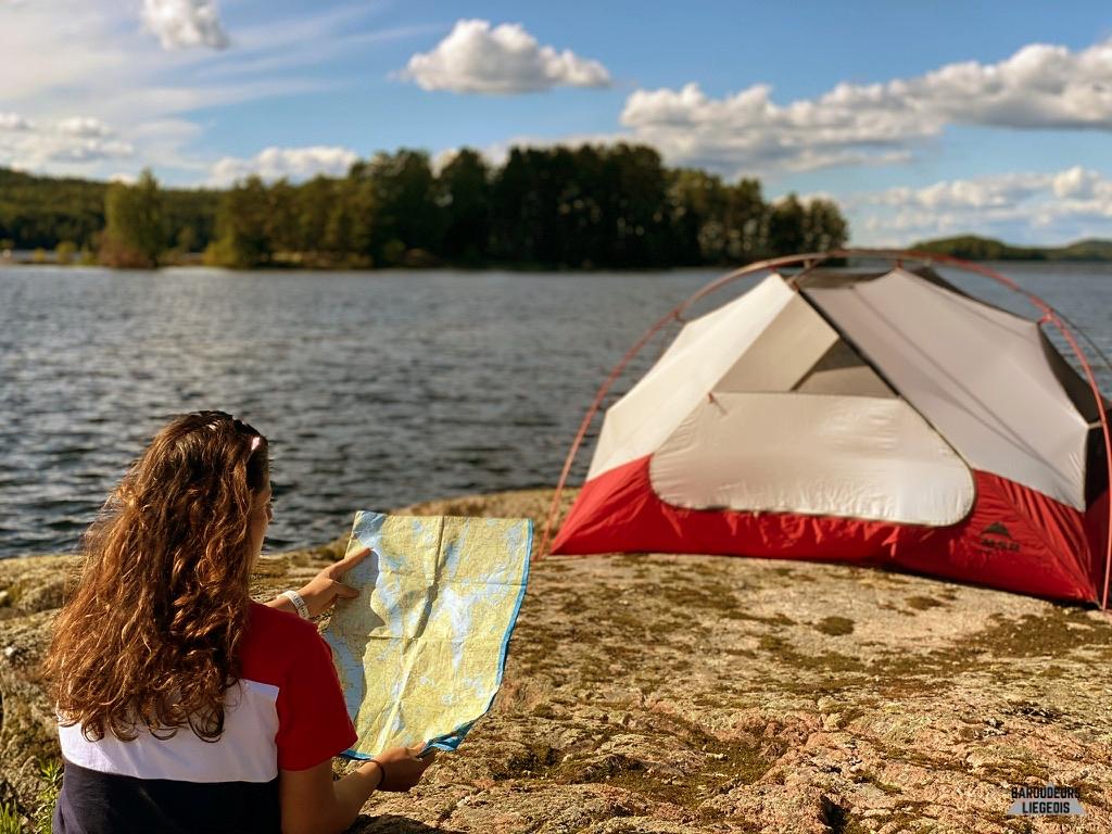 Le sac à dos du Canoë Tripper : matériel utile pour le Canoë Trip en Suède