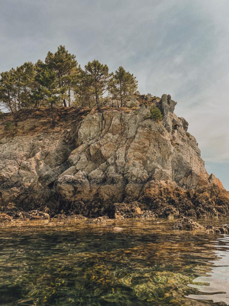eau turquoise de l'île vierge crozon