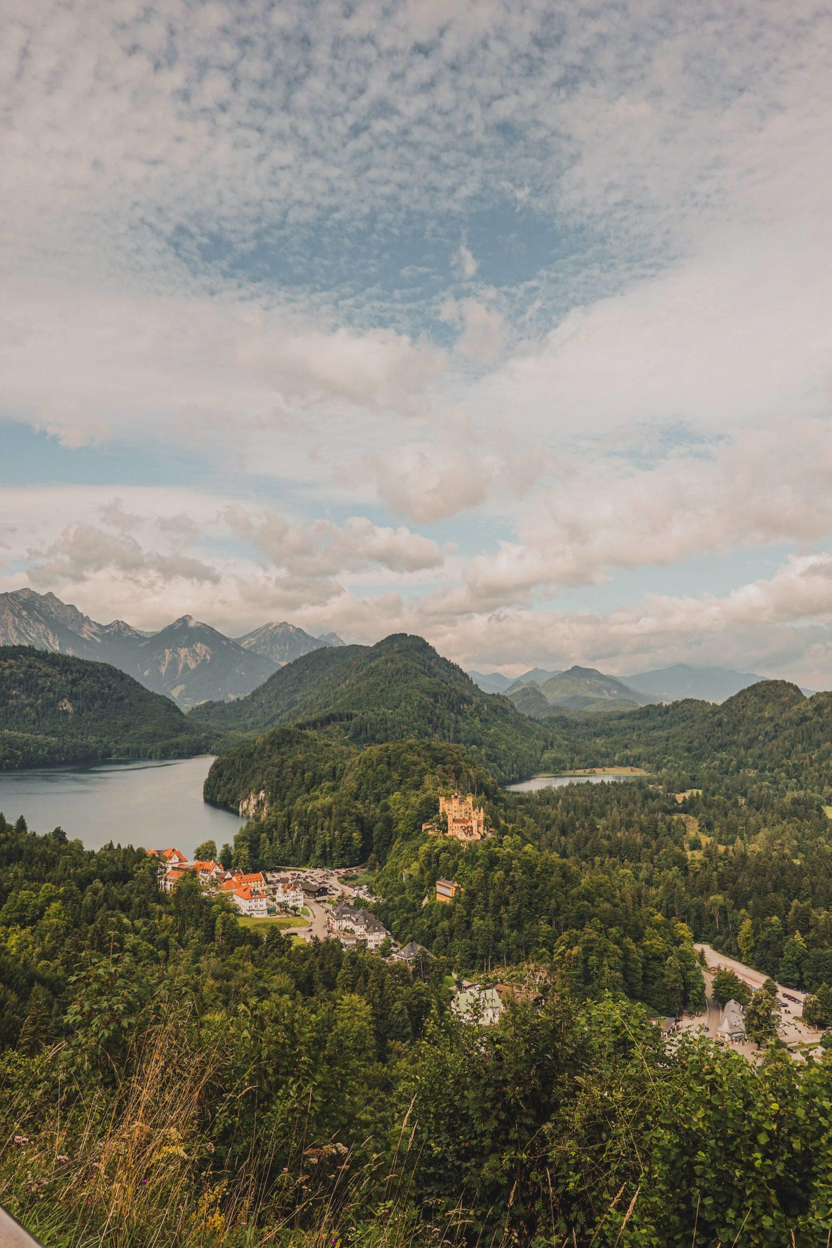 lac alpsee bavière point de vue