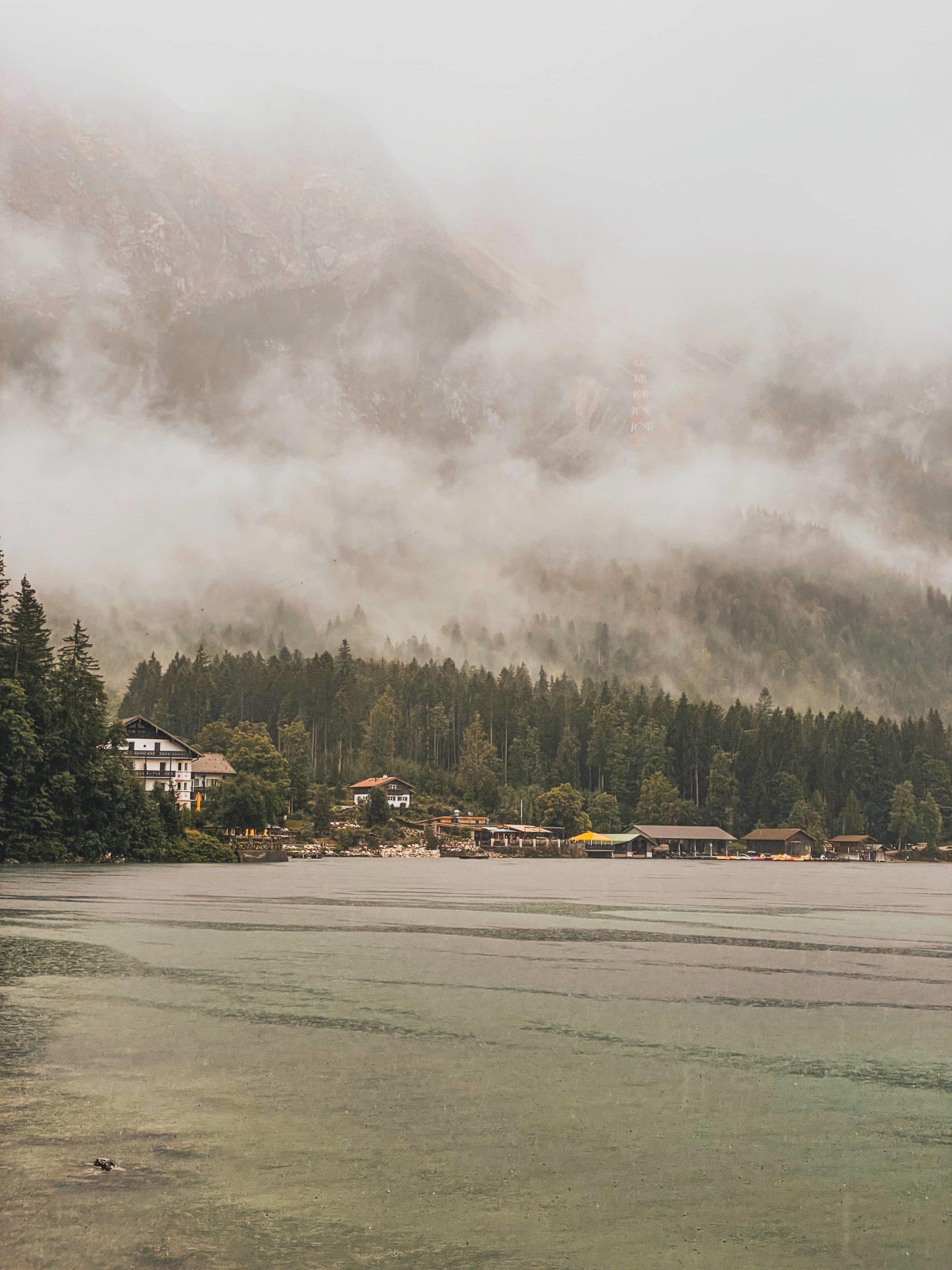 randonner au lac eibsee bavière