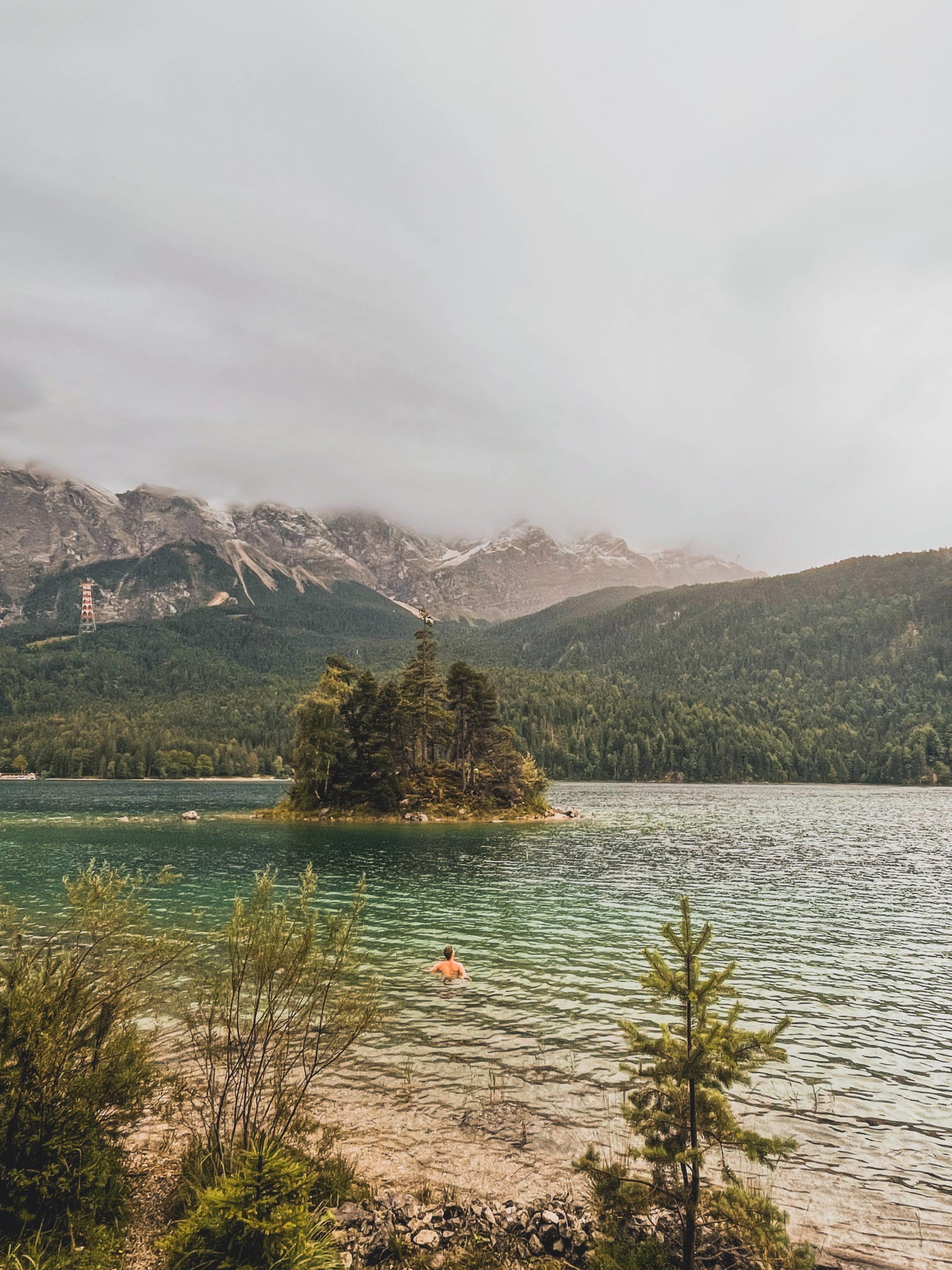 lac eibsee allemagne